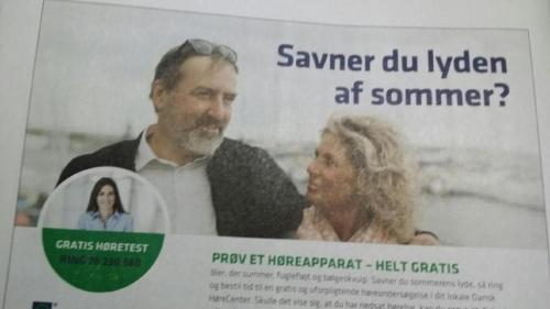 Reklame og reklamefilm for Dansk Hoerecenter
