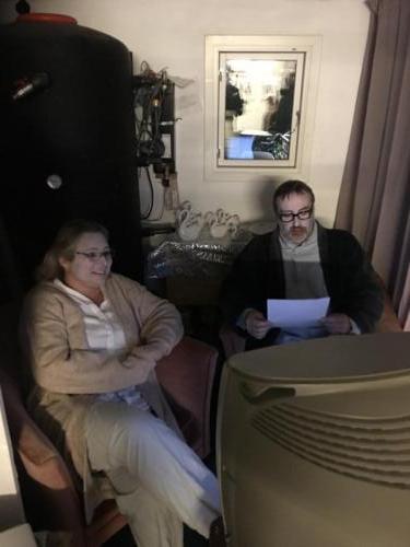 Eik´s far på skibet Illutron - Teater