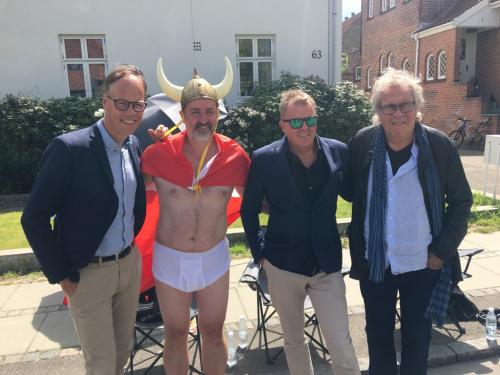 Dennis Rytter, Rolf Sørensen og Jørgen Leth